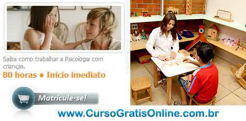 curso de psicologia infantil