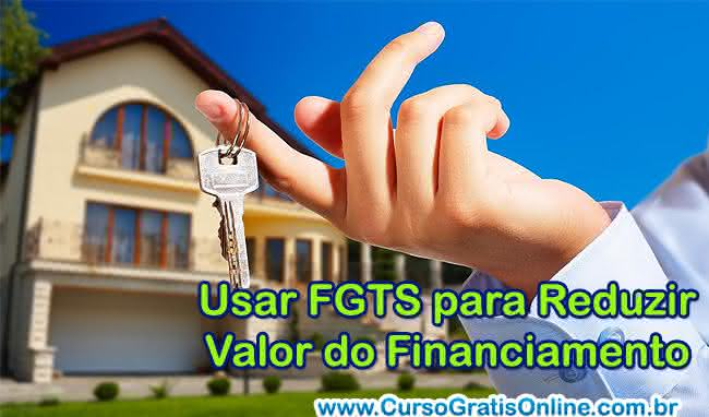 usar fgts no financiamento