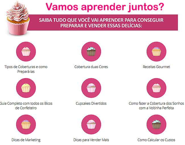 cupcake curso online