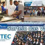 FAETEC RJ 2017 – Resultado do Sorteio das Vagas para Cursos