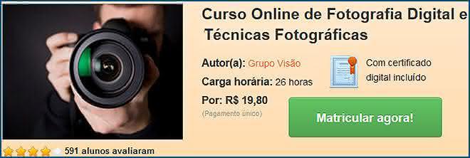 curso técnica fotográficas
