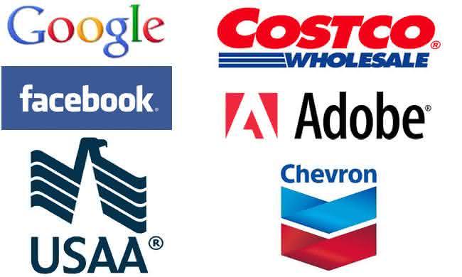 empresas com maiores salários da américa