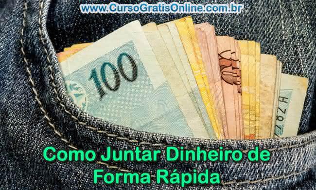 juntar dinheiro