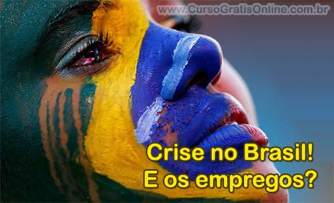 crise no brasil e os desempregos