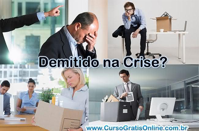 demitido na crise