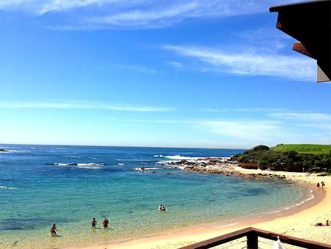 Austrália praias e viver no país