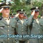 Quanto Ganha um Sargento do Exército – Salário