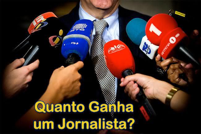 Jornalista salário